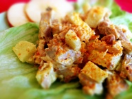 Curry Apple Chicken Salad